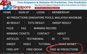 4d free predictions